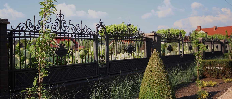 ogrodzenie do rezydencji
