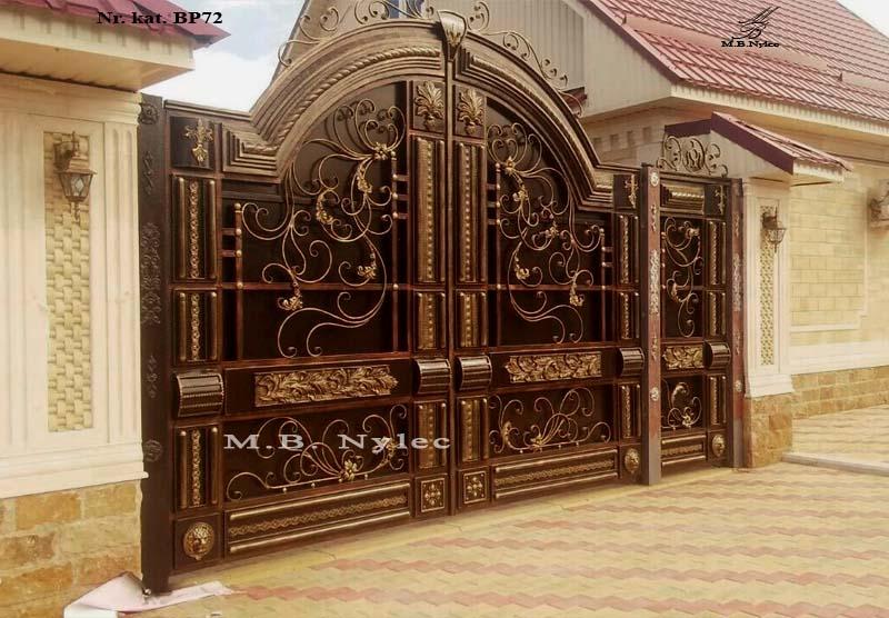 Wyjątkowa unikatowa brama do rezydencji bp72