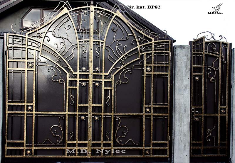 brama nowoczesna bp82