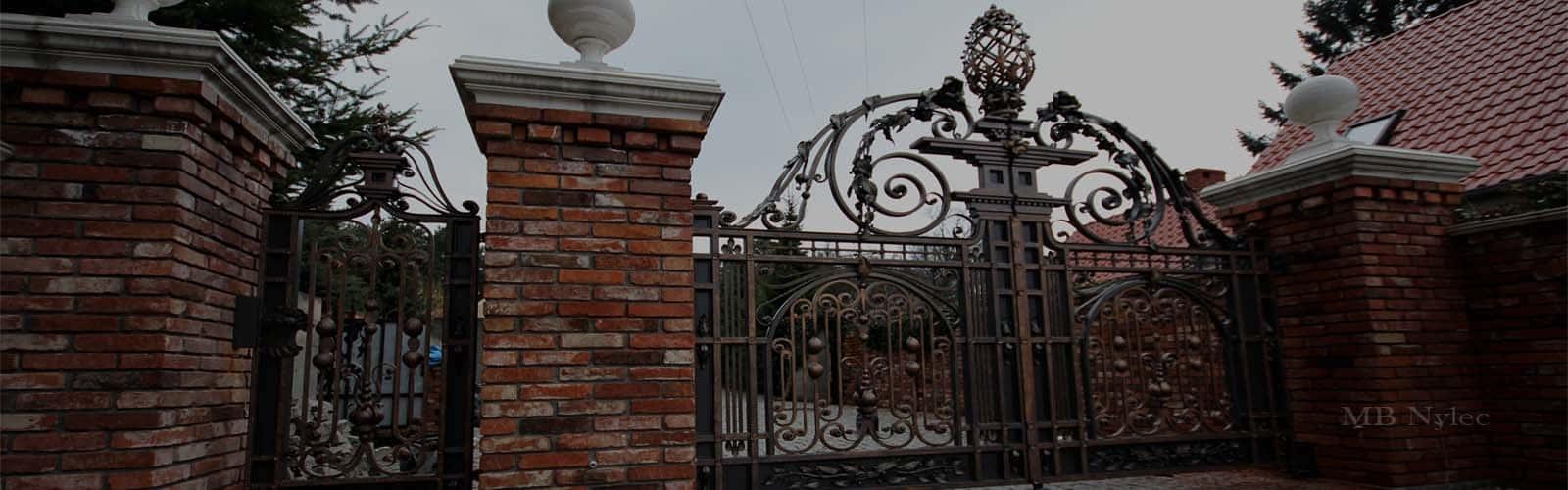 kute bramy wjazdowe